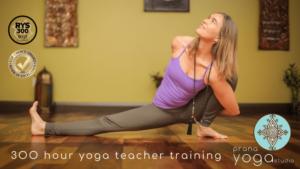 Prana Yoga Studio - 300 Hour Yoga Teacher Training