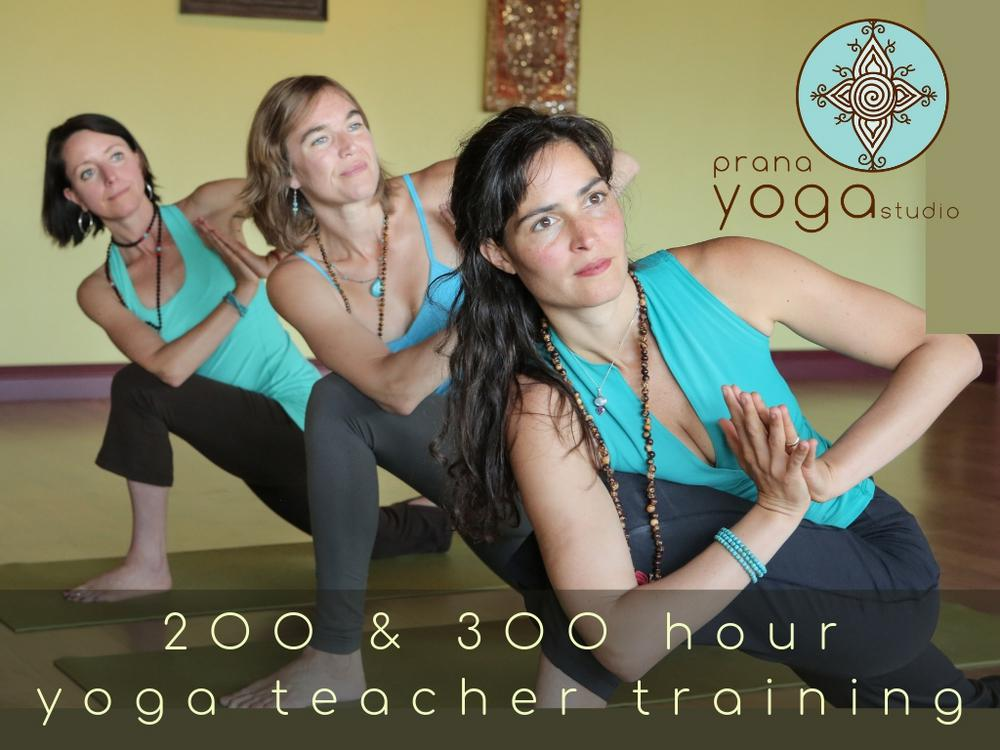 Yoga Teacher Training - 200 & 300 hour