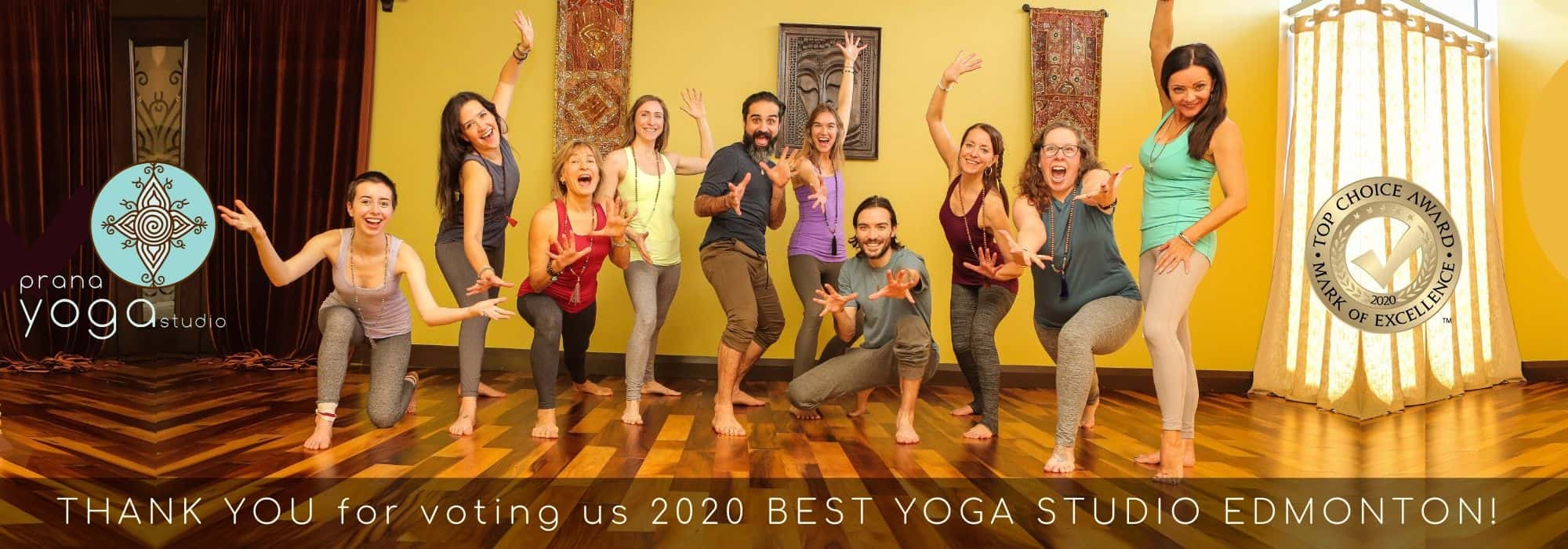 Prana Yoga Studio Edmonton - Hot Yoga, Warm Yoga, Yoga, Training, Teacher Training